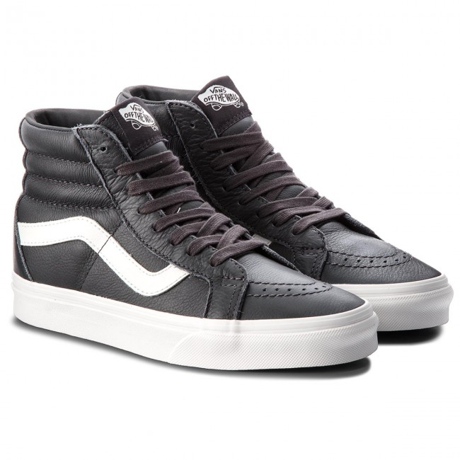 Sneakers VANS Sk8 Hi Reissue VN0A2XSBQD1 (Leather) AsphaltBlanc D