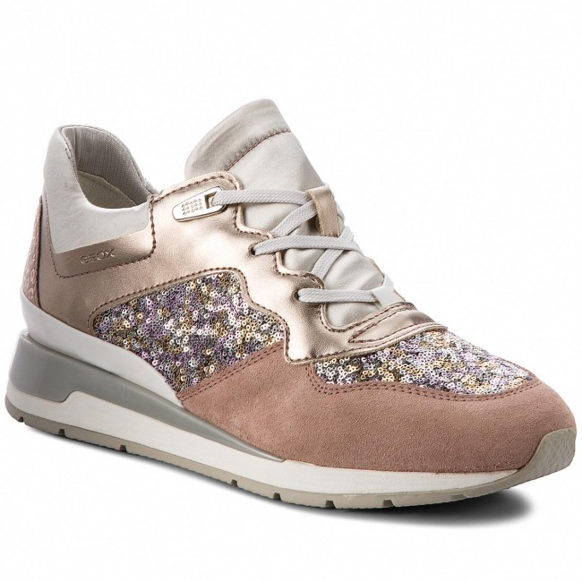 0567ce798c5c84 Sneakers GEOX - D Shahira B D62N1B 0AJAY C8A1W Antique Rose Silver ...