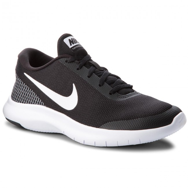 75e7d6893b0 Shoes NIKE - Flex Experience Rn 7 908985 001 Noir Blanc Blanc ...