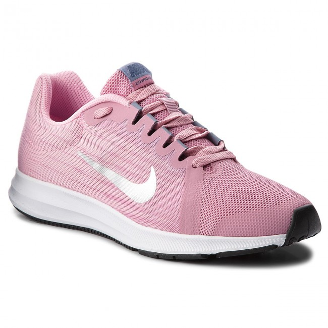 buy popular b58b8 e952e Shoes NIKE - Downshifter 8 (GS) 922855 600 Elemental Pink Metallic Silver
