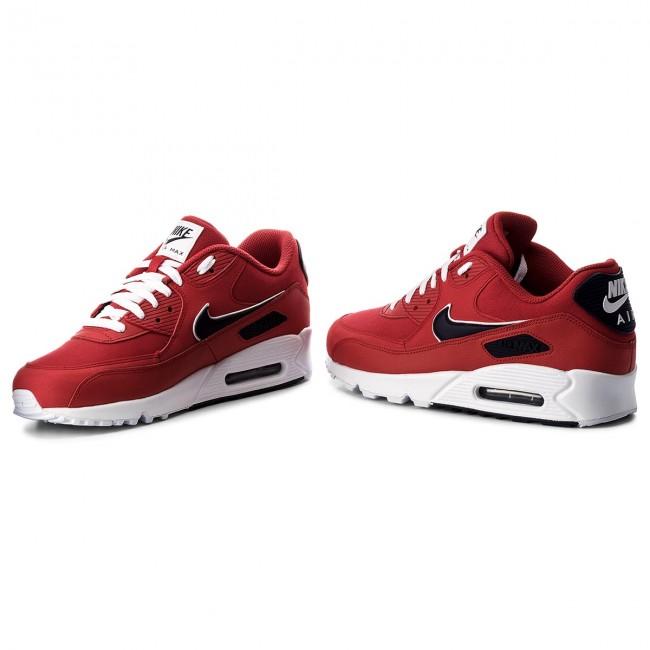 03cfaf1e560 Shoes NIKE - Air Max 90 Essential AJ1285 601 University Red Blackened Blue