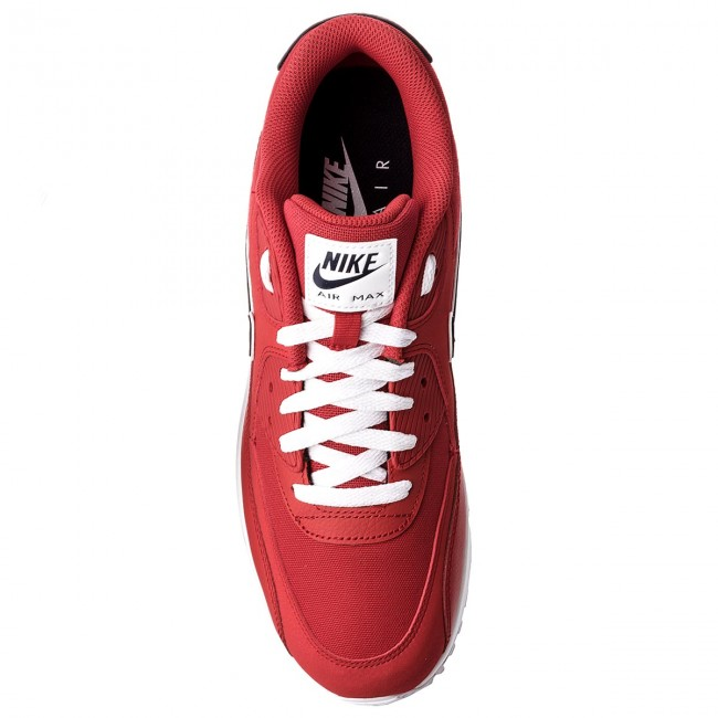 on sale a5c7c 5cf20 Shoes NIKE - Air Max 90 Essential AJ1285 601 University Red Blackened Blue  - Sneakers - Low shoes - Men s shoes - www.efootwear.eu