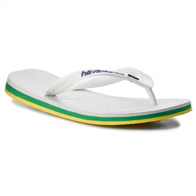d34f832b2 Slides HAVAIANAS - Brasil Layers Cf 41407150001 White - Flip-flops ...