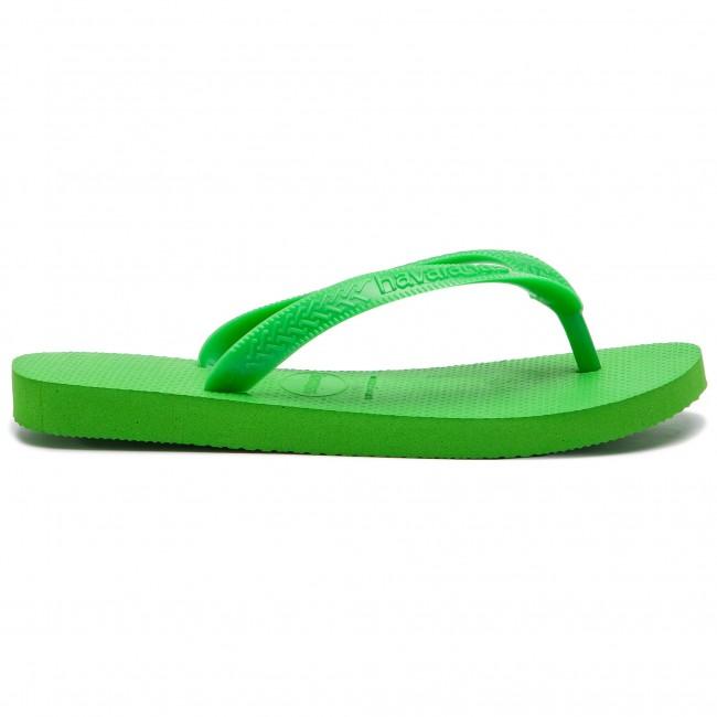 0cdec5ceb793 Slides HAVAIANAS - Top 40000299500 Green Neon Green - Flip-flops ...