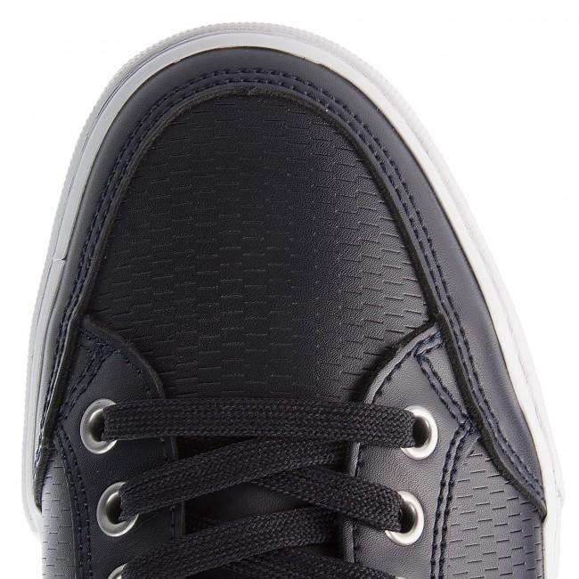 3a502768279e2a Sneakers TOMMY HILFIGER - Core Corporate Leather Sneaker FM0FM01497  Midnight 403 - Sneakers - Low shoes - Men s shoes - www.efootwear.eu