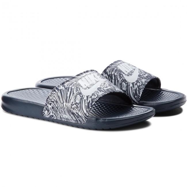 bc1205a64441 ... sneaker Slides NIKE - Benassi Jdi Print 631261 403 ObsidianPure  Platinum - Clogs and mules ...