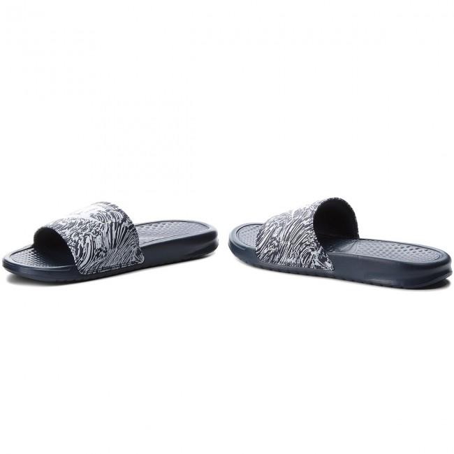 44679af03caf59 Slides NIKE - Benassi Jdi Print 631261 403 Obsidian Pure Platinum ...