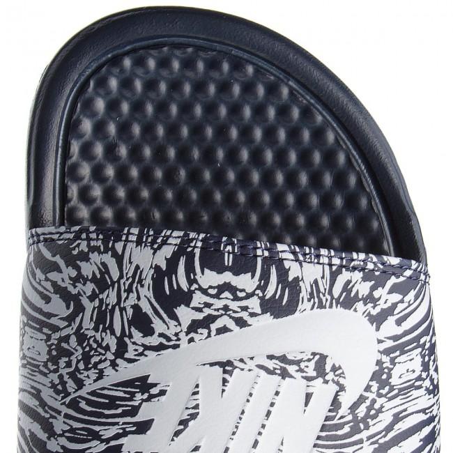2bc94bbfeee8c8 ... sneaker Slides NIKE - Benassi Jdi Print 631261 403 ObsidianPure Platinum  - Clogs and mules ...