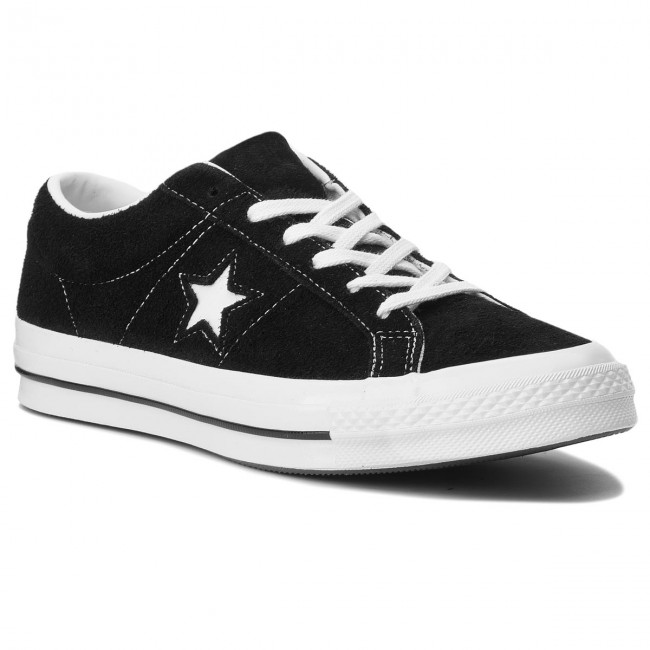 57fb1802622c Plimsolls CONVERSE - One Star Ox 158369C Black White White ...