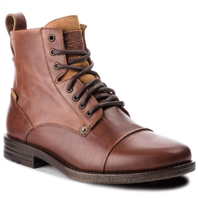 Boots LEVI'S Knee 225115 27 Jackboots Brown High Medium 700 CshtQdr