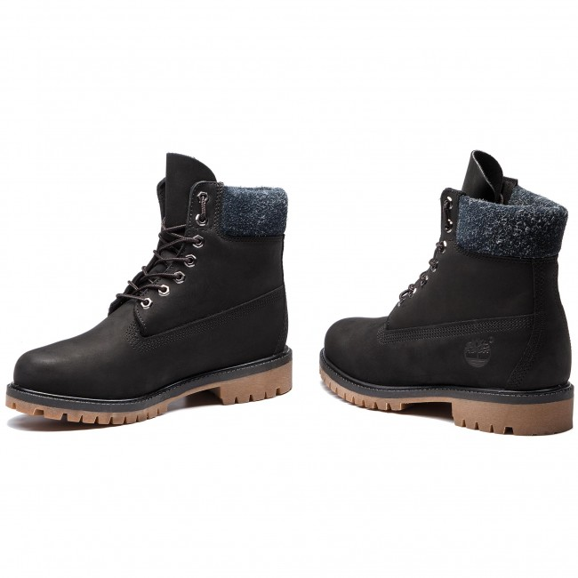 Hiking Boots TIMBERLAND - Premium 6 In Waterproof Boot TB0A1UEJ0011 Black  Nubuck aeabf19cc546