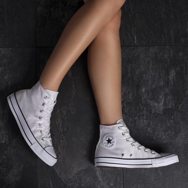 Sneakers CONVERSE Ctas Hi 561709C WhiteWhiteBlack