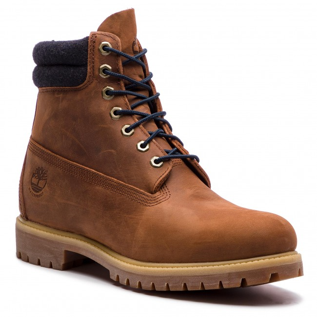 f918f188acc9 Hiking Boots TIMBERLAND - 6 In Double Collar Boot TB0A1QZJD351 Rawhide