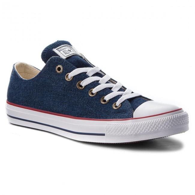 22f9e59fb3f7 Sneakers CONVERSE - Ctas Ox 161489C Dark Blue Natural Ivory White ...