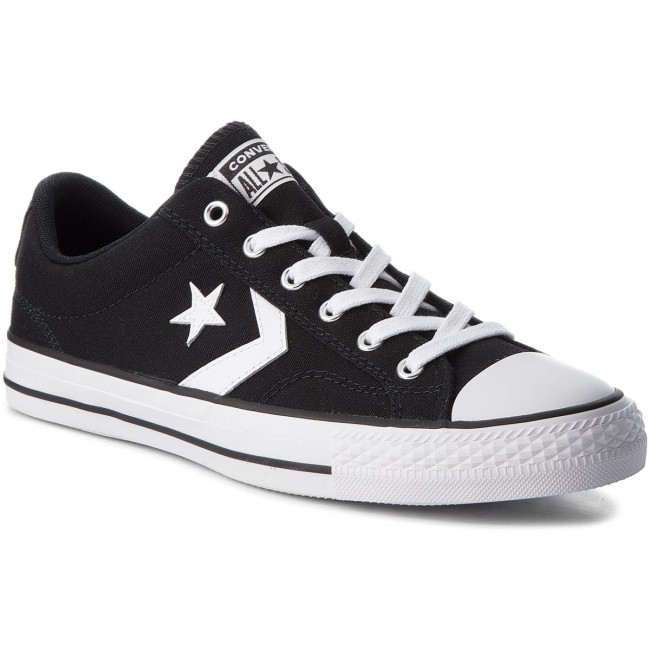 Sneakers CONVERSE - Star Player Ox 161595C Black White White ... 223d5a0dc