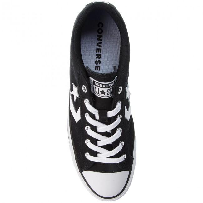 Sneakers CONVERSE - Star Player Ox 161595C Black White White - Plimsolls -  Low shoes - Men s shoes - www.efootwear.eu 7dd853776