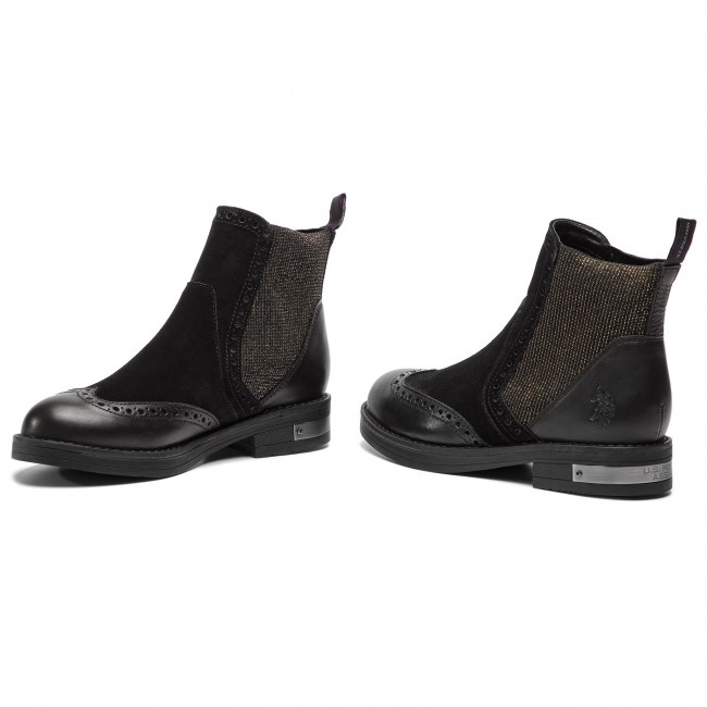 Ankle Boots U.S. POLO ASSN. - Vaiana YOSHI4012W8 LS1 Blk - Elastic ... 73b06007671