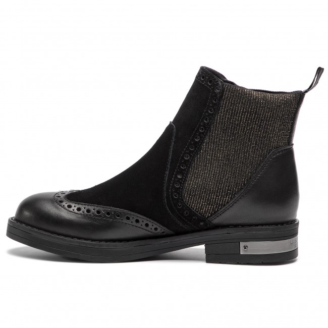 Ankle Boots U.S. POLO ASSN. - Vaiana YOSHI4012W8 LS1 Blk - Elastic-sides -  High boots and others - Women s shoes - www.efootwear.eu 461fd5a4c8c