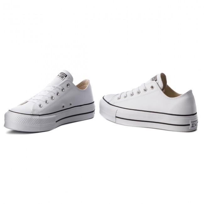 Sneakers CONVERSE Ctas Lift Clean Ox 561680C WhiteBlack