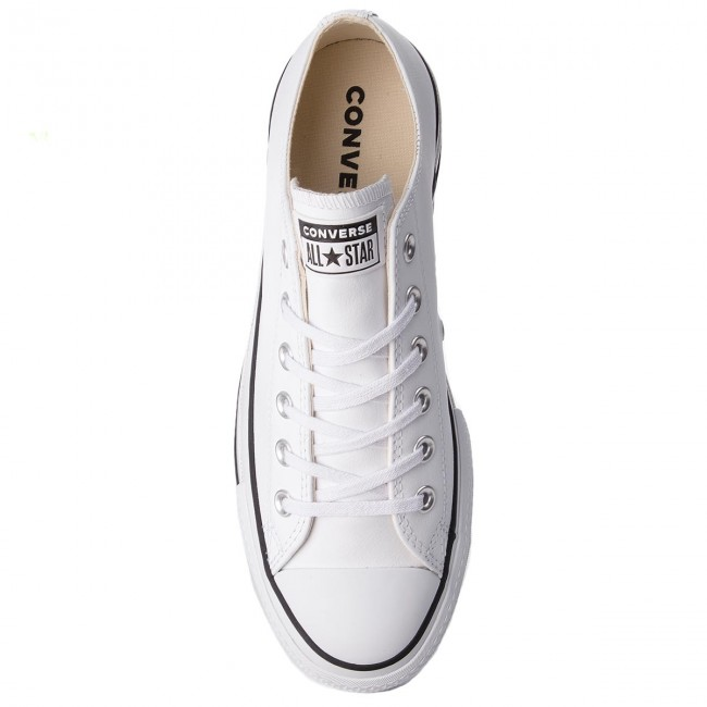 Sneakers CONVERSE Ctas Lift Clean Ox 561680C WhiteBlack
