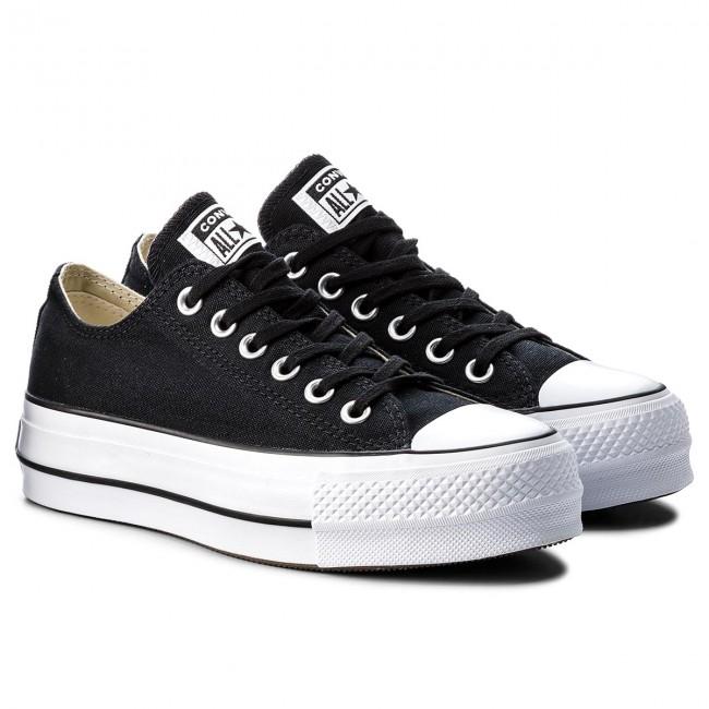 df7963270d31 Sneakers CONVERSE - Ctas Lift Ox 560250C Black White White - Sneakers - Low  shoes - Women s shoes - www.efootwear.eu