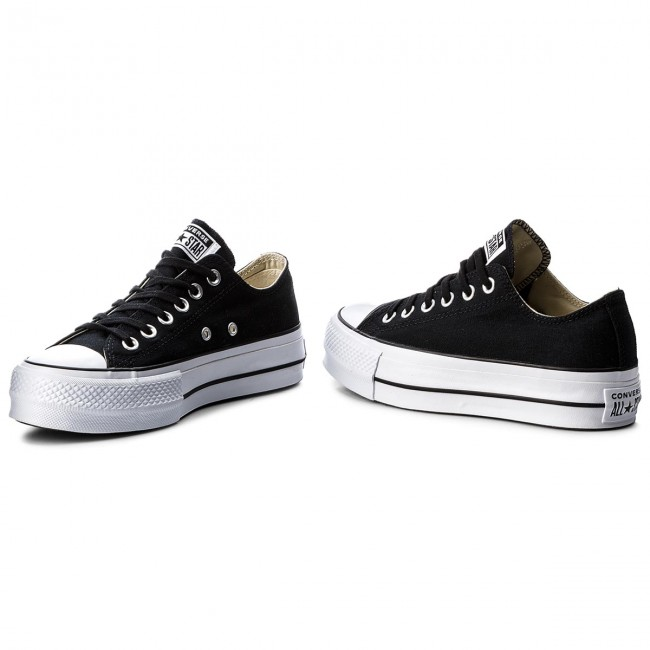a35f76284ef6 Sneakers CONVERSE - Ctas Lift Ox 560250C Black White White ...
