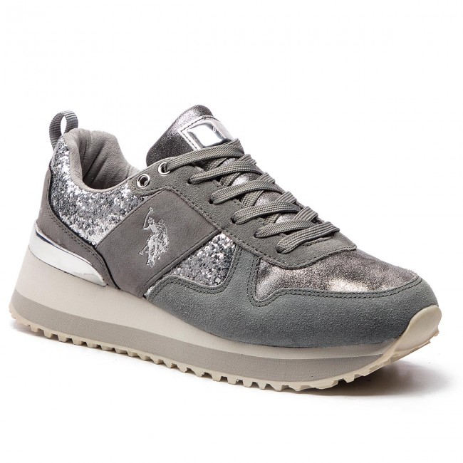 Sneakers U.S. POLO ASSN. - Tabitha1 Crystal FRIDA4103W8 HT1 Sil ... 175d09d4617