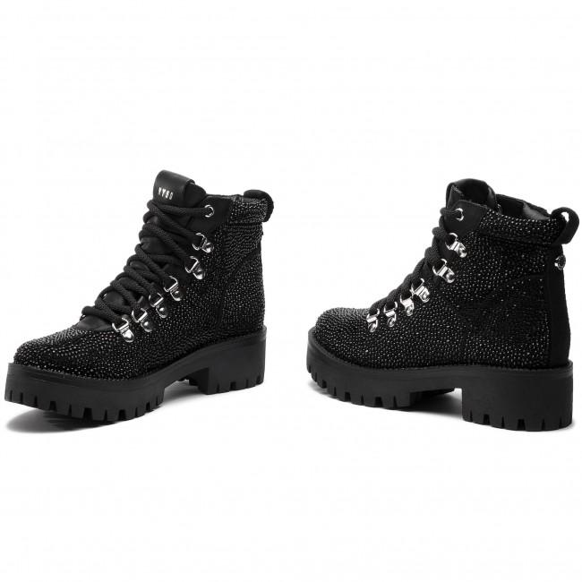 4c5cd652e8d Hiking Boots STEVE MADDEN - Bam Bootie SM11000329-04001-998 Rhinestone