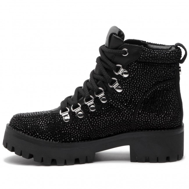 264ded6f2cc Hiking Boots STEVE MADDEN - Bam Bootie SM11000329-04001-998 Rhinestone -  Trekker boots - High boots and others - Women s shoes - www.efootwear.eu