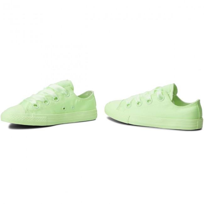 cf43d59c72a7 Sneakers CONVERSE - Ctas Big Eyelets Ox 661876C Barely Volt Barely Volt