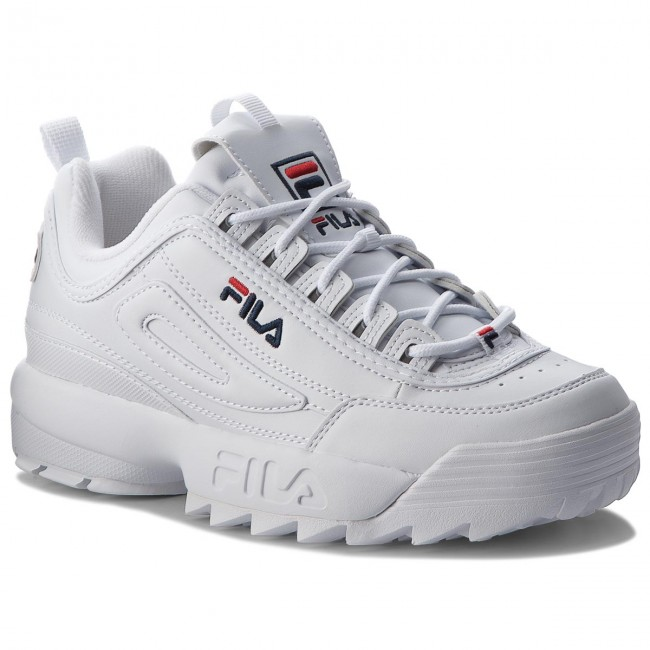 Fila Disruptor 1fg 1010262 Low Sneakers White HU7awxx