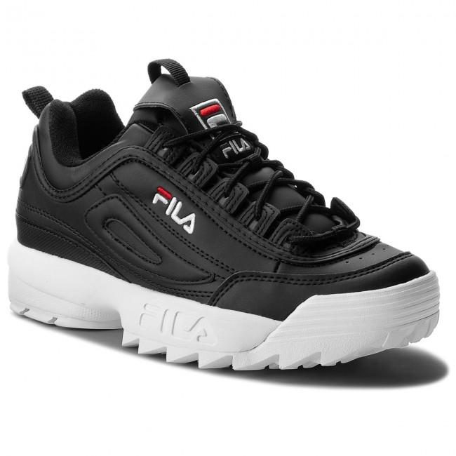 7d66e6c7ee1b Sneakers FILA - Disruptor Low 1010262.25Y Black - Sneakers - Low ...