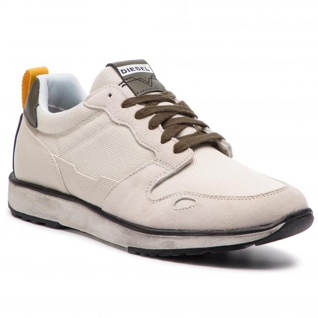 1975b9d41f8 Sneakers DIESEL - S-Rv Low Y01754 PR316 H6774 Cream Star White Olive ...