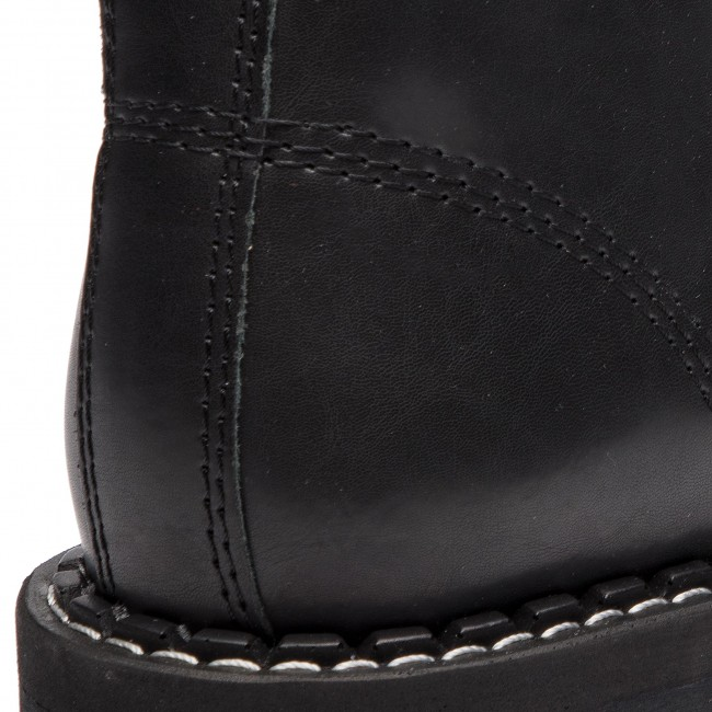 d6838636e390ff Combat Boots STEEL - 114/O/B Black - Combat boots - High boots and ...