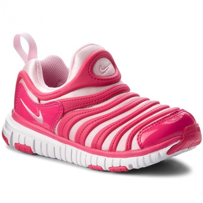 7e5d20ef94e7 ... Shoes NIKE - Dynamo Free (PS) 343738 626 Rush Pink Pink-White ...