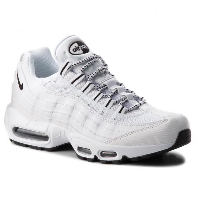 c27a6b07c5 Shoes NIKE - Air Max 95 609048 109 White/Black/Black - Sneakers ...