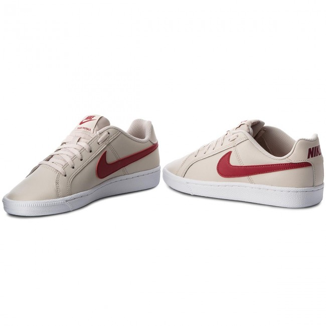 Shoes NIKE - Court Royale (GS) 833654 008 Desert Sand Red Crush ... 32de490058087