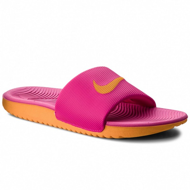168f679037f2 Slides NIKE - Kawa Slide 834588 605 Pink Prime Orange Peel - Casual ...