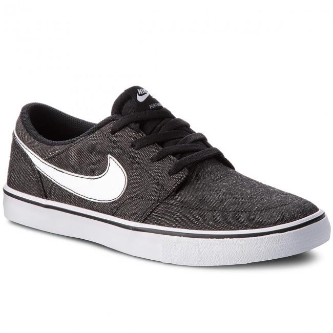 263e7bfa2824 Shoes NIKE - Sb Portmore II Slr Cvs P 880269 001 Black White White ...