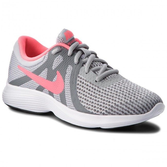 f72b2a9e175 Shoes NIKE - Revolution 4 (GS) 943306 003 Wolf Grey Racer Pink Cool ...