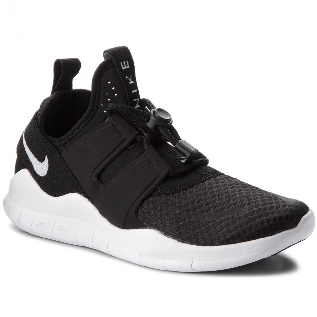e4f4647eac8 Shoes NIKE - Free Rn Cmtr 2018 AA1620 001 Black White - Indoor ...