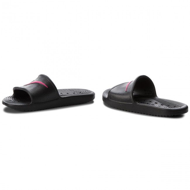 best service 23009 84b30 Slides NIKE - Kawa Shower (GS) AQ0899 002 BlackRush Pink