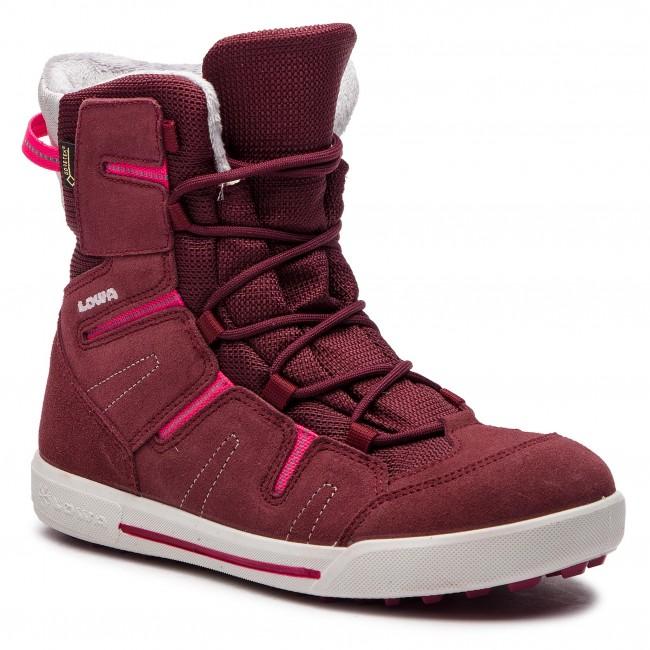 Knee High Boots LOWA. Lily II Gtx Mid Junior GORE-TEX 350131 Burgundy Berry 7a20694e824