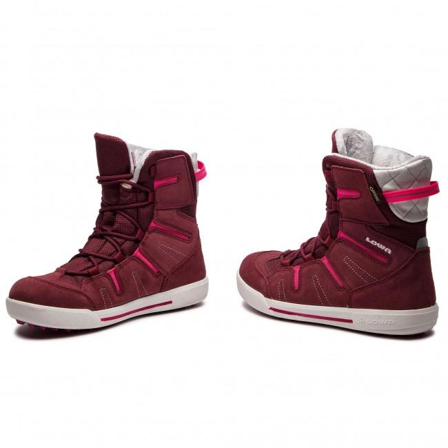 Knee High Boots LOWA - Lily II Gtx Mid Junior GORE-TEX 350131 Burgundy  3c9faf281f0