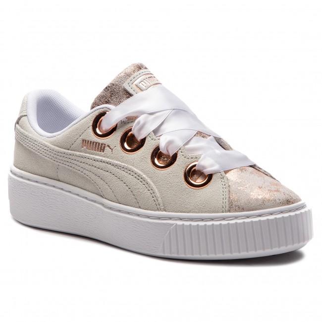 842b55321e12e1 Sneakers PUMA - Platform Kiss Artica Wn s 366707 01 Puma White Puma ...