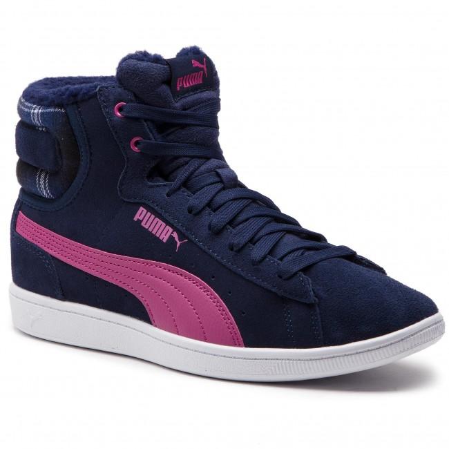 29651d44c46 Sneakers PUMA - Vikky Mid Wtr 366808 02 Peacoat Magenta Haze ...
