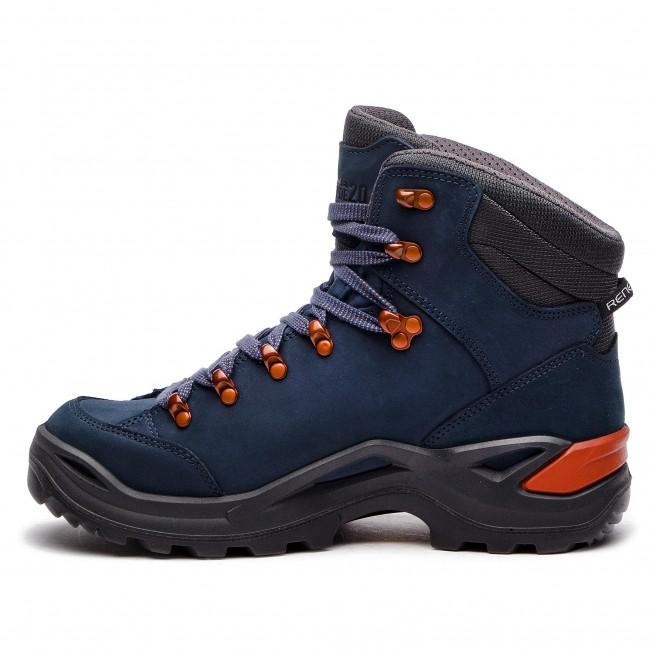 Trekker Boots LOWA - Renegade Gtx Mid 20 GORE-TEX 310920 Navy Kupfer 6943 -  Trekker boots - Sports shoes - Men s shoes - www.efootwear.eu 6ba35082739