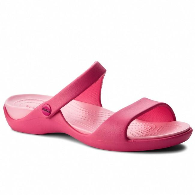 443ce3b3cbd4 Slides CROCS - Cleo V 204268 Paradise Pink - Casual mules - Mules ...