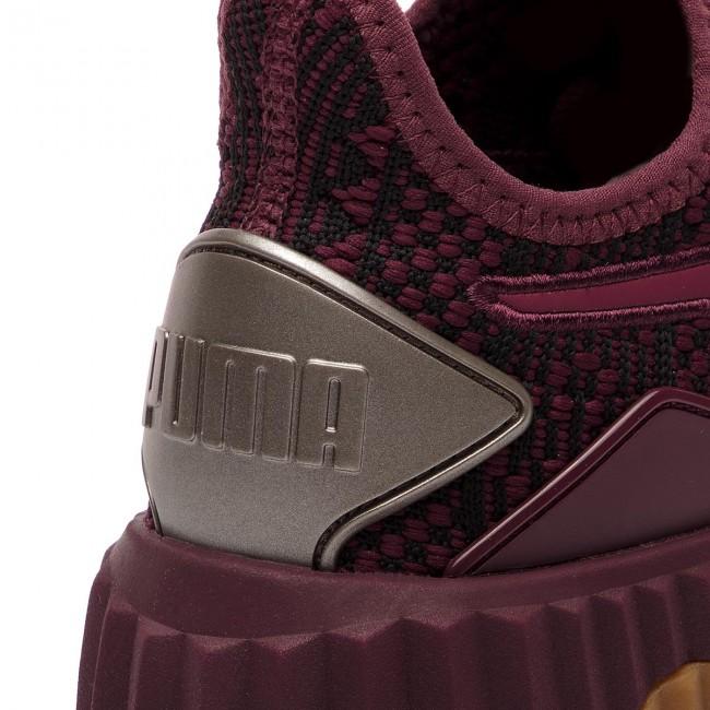 9627db60222 Sneakers PUMA - Defy Luxe 191153 03 Fig Metallic Ash - Sneakers ...