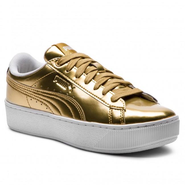 41fe49ed11f Sneakers PUMA - Vikky Platform Lx 366932 02 Gold Gold White ...